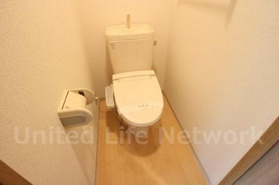 清潔感のあるトイレ