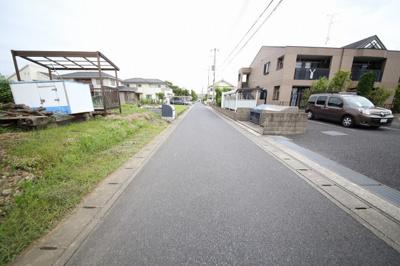 前面道路(幅員約4.8m)南西側より撮影