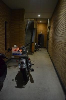 バイク相談・駐輪スペース