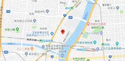 【地図】メゾンドブラッサムリバー(メゾンドブラッサムリバー)