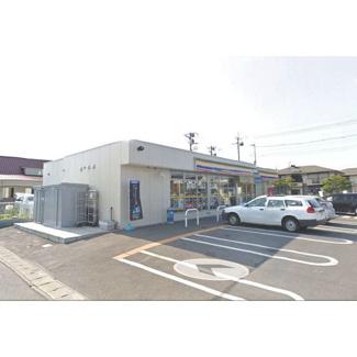 コンビニ「ミニストップ宇都宮平松本町店まで452m」