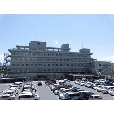 病院「長野赤十字病院まで1024m」