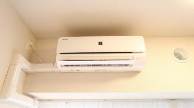 新規エアコン設置!