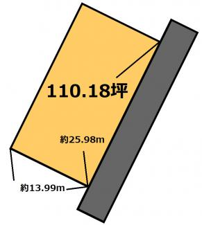 【土地図】北浦団地 130万円
