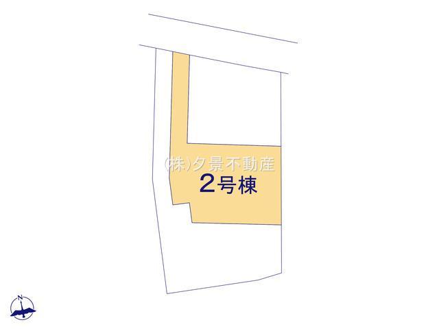 【区画図】川口市大字木曽呂218-2(2号棟)新築一戸建てクレイドルガーデン