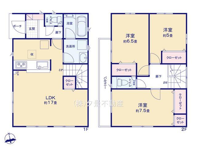 川口市大字木曽呂218-2(2号棟)新築一戸建てクレイドルガーデン