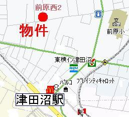 【地図】メゾンファミーユ