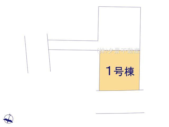 【区画図】川口市長蔵2丁目26-16(1号棟)新築一戸建てリーブルガーデン