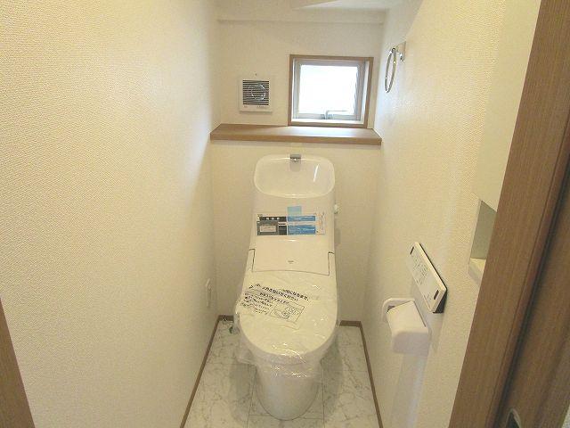 【トイレ】早良区梅林6丁目新築戸建 4号棟