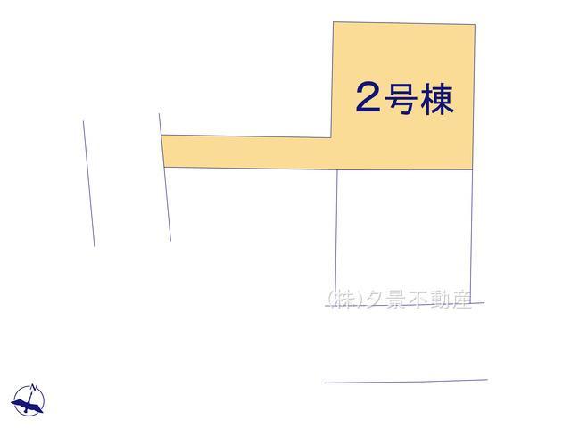 【区画図】川口市長蔵2丁目26-16(2号棟)新築一戸建てリーブルガーデン