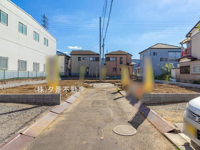 【区画図】川口市大字道合74-5(A号棟)新築一戸建てハートフルタウン