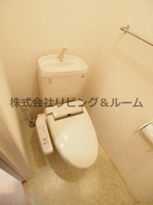 【トイレ】カサブランカ A棟