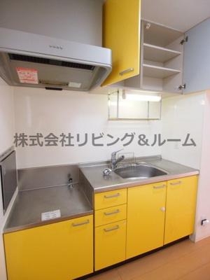 【キッチン】カサブランカ A棟