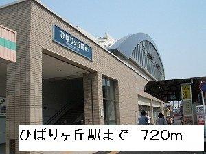 ひばりヶ丘駅まで720m