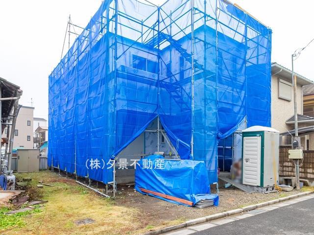 【外観】川口市朝日3丁目10-14(全1戸)新築一戸建てグランパティオ