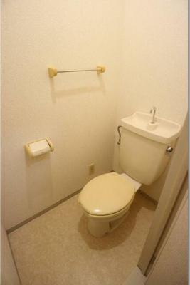 【トイレ】ハーベストホームズⅢ