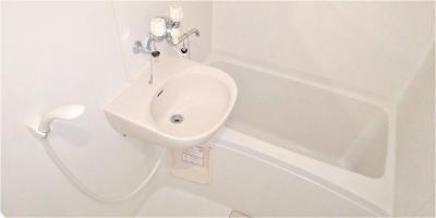 【浴室】レオパレスプレミール