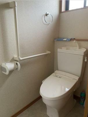 【トイレ】花の木戸建て