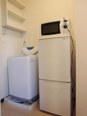 電子レンジ&冷蔵庫&全自動洗濯機