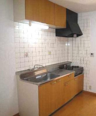 【キッチン】CE 南東向き 二人入居可 最上階 オートロック