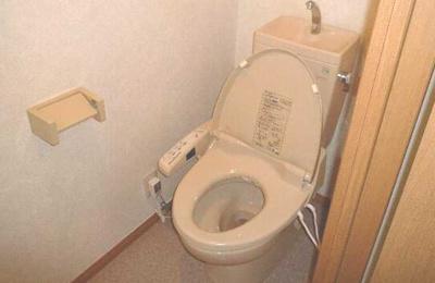 【トイレ】CE 南東向き 二人入居可 最上階 オートロック