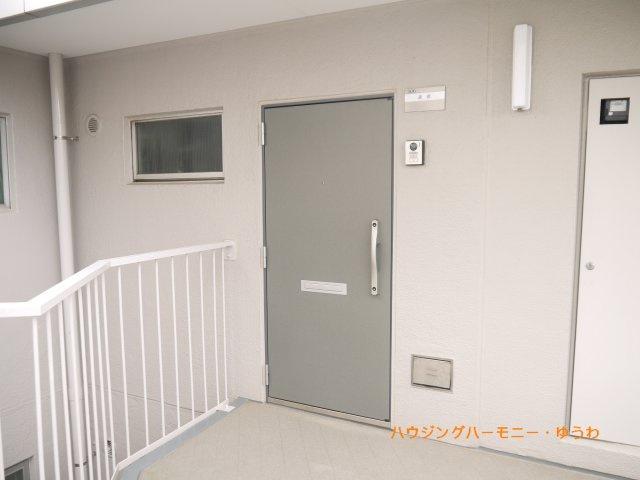 【玄関】上板橋サンライトマンションAL棟