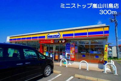 ミニストップ 嵐山川島店まで300m