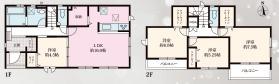 大和高田市西坊城 新築(全3棟)2号棟
