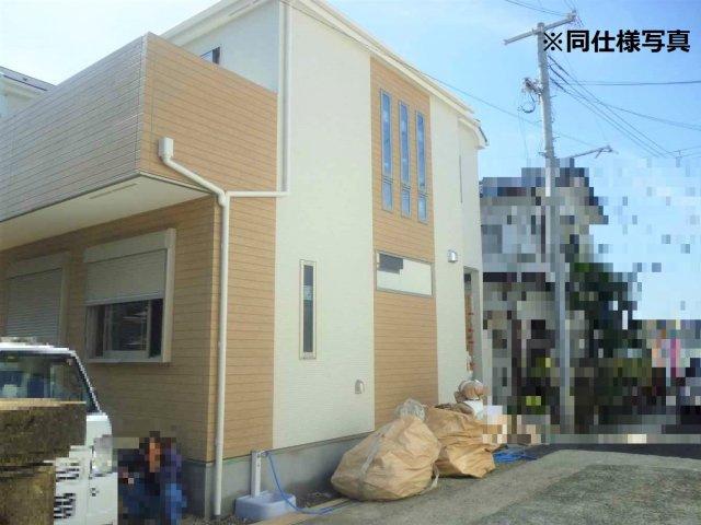 【外観:施工例】大和高田市西坊城 新築(全3棟)2号棟