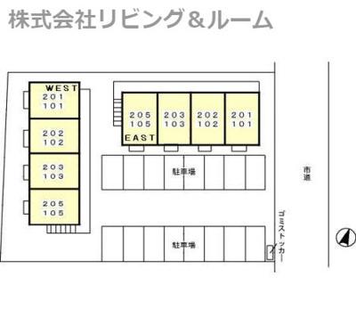 【区画図】リロイコア WEST