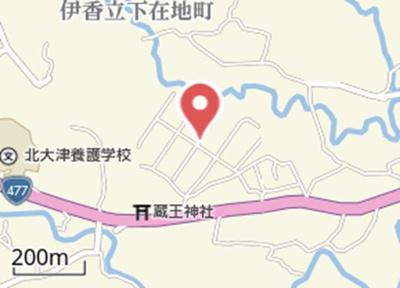【地図】真野大野貸家 K邸