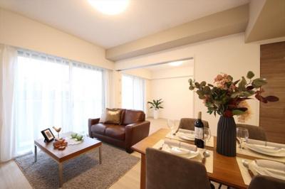 【外観】ライオンズガーデン錦糸町 8階 リノベーション済 1996年築