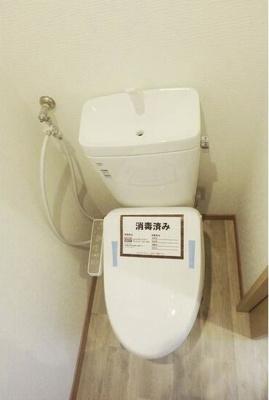【トイレ】八雲フラット