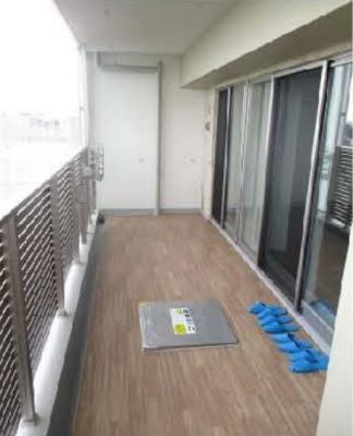 【バルコニー】クリオ横濱三ツ沢