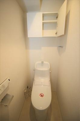 一体型の節水型トイレです!