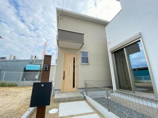 【外観】堺市北区南花田町新築戸建 3号地(北八下小学校)