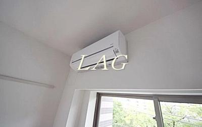 エアコンつきです。