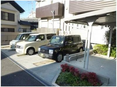 【駐車場】Casa Domani