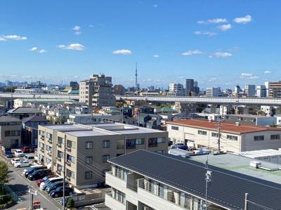 【外観】シーズガーデン瑞江 2004年築 7階 リ フォーム済