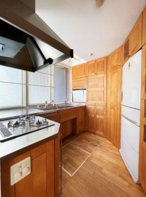 経堂の杜のキッチンです。