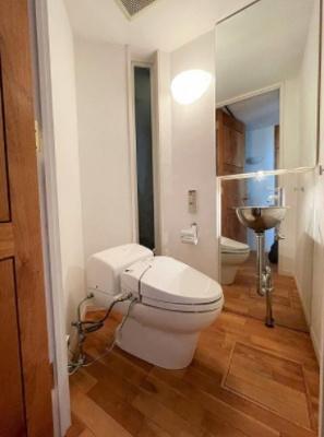 経堂の杜のトイレです。
