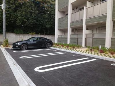 【駐車場】大鳥レジデンス