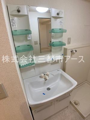 【洗面所】小山台サニーハイツ(コヤマダイサニーハイツ)