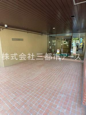 【ロビー】小山台サニーハイツ(コヤマダイサニーハイツ)