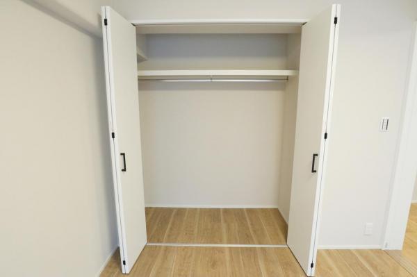 収納スペース豊富です 各居室に収納があります