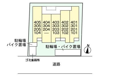 【区画図】ベル セゾン