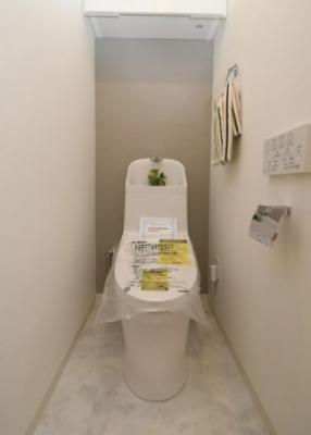 ライオンズマンション南烏山のトイレです。