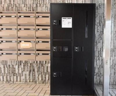 ライオンズマンション南烏山の宅配ボックスです。
