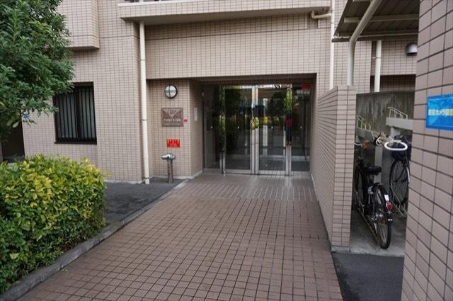 【エントランス】クリオ新子安6番館