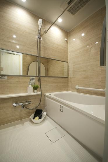 【浴室】クリオ新子安6番館